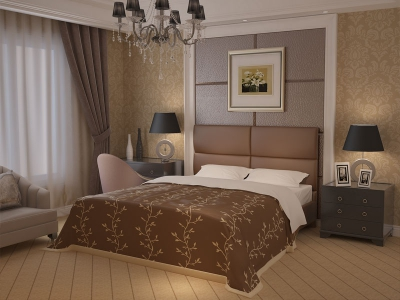 Кровать из экокожи Promtex Orient Benito